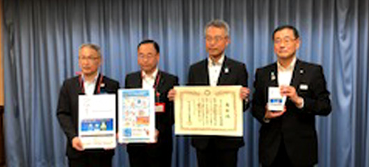 Saitama Prefecture, Japan Post Kanto Branch, and Coca-Cola Bottlers Japan Inc.implemented a joint effort of heat stroke reminder
