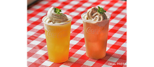 Local specialty floats now on sale in Yumesaki-cho, Himeji City! - Collaboration between Coca-Cola products and local specialty soft-serve ice cream -